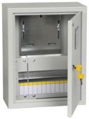 Щит учетно-распределительный IEK навесной, модулей: 12 MKM25-N-12-31-ZO