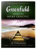 Чай улун Greenfield Milky Oolong в пирамидках