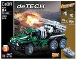 Электромеханический конструктор Double Eagle CaDA deTECH C61002W Боевая машина Катюша