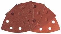 BOSCH Набор шлифовальных листов 93х93мм Р60/80/120/180/240 - 10 шт