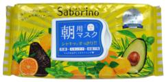 Saborino Маска-салфетка для утреннего ухода за лицом