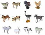 Игровой набор BONDIBON Ребятам о зверятах - Животные фермы ВВ2368
