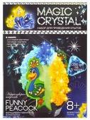 Набор для исследований Danko Toys Magic Crystal Нерукотворное искусство № 7 Funny peacock