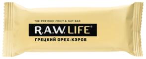 Фруктовый батончик R.A.W. Life без сахара Грецкий орех-Кэроб, 47 г