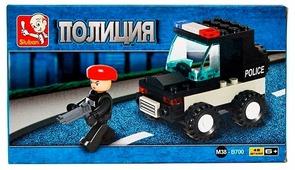 Конструктор SLUBAN Военная полиция M38-B700