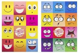 Цветной картон Эмоции (в ассортименте) Action!, A4, 8 л., 8 цв.