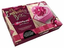 Danko Toys Набор для вышивания Embroidery Box Шкатулка Набор 8 (EMB-01-08)