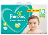 Pampers подгузники Active Baby-Dry 5 (11-16 кг) 110 шт.