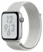 Часы Apple Watch Series 4 GPS 44mm Aluminum Case with Nike Sport Loop