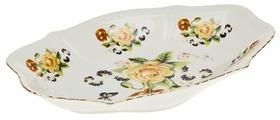 Best Home Porcelain Блюдо Цветочный аромат 21.5х14