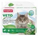 Капли от блох и клещей Beaphar Veto pure для кошек