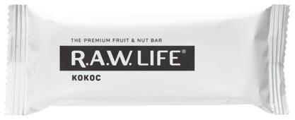 Фруктовый батончик R.A.W. Life без сахара Кокос, 47 г