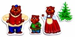 Vladi Toys Магнитный театр Три медведя (VT3206-10)