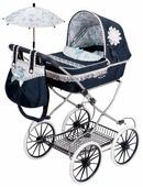 Прогулочная коляска DeCuevas Романтик с сумкой и зонтиком (81025)