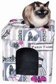 Будка для кошек DreamBag складная Candy 37х37х40 см
