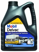 Моторное масло MOBIL Delvac LCV 10W-40 4 л