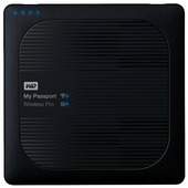Внешний жесткий диск Western Digital My Passport Wireless Pro 1 TB (WDBVPL0010BBK)
