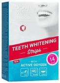 Global White Отбеливающие полоски для зубов за 14 дней