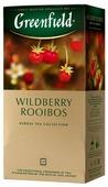Чайный напиток травяной Greenfield Wildberry Rooibos в пакетиках