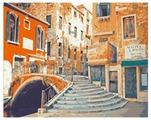 """Рыжий кот Картина по номерам """"Венецианская улочка"""" 40х50 см (PP065)"""