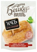 """БейкерВИЛЛЬ Смесь мучная """"Хлеб кукурузный"""", 0.41 кг"""