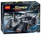 Конструктор Decool Super Heroes 7116 Бэтмобиль