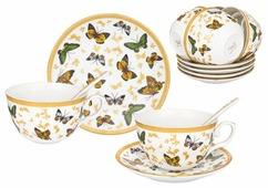 Чайный сервиз Elan gallery Бабочки