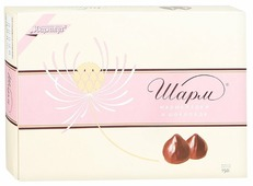 Набор конфет Ударница Шарм мармеладки в шоколаде 150 г