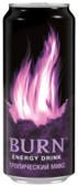 Энергетический напиток Burn Тропический микс