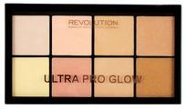 REVOLUTION Палетка хайлайтеров Ultra Pro Glow