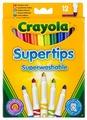 Crayola Фломастеры 12 шт. (7509)
