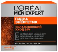 L'Oreal Paris Крем для лица Men Expert Гидра Энергетик Увлажняющий Уход 24ч