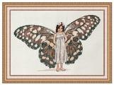 NeoCraft Набор для вышивания крестиком Душа бабочки 17 x 27 см (вл-05)