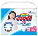 Goo.N трусики для девочек XXL (13-25 кг) 28 шт.