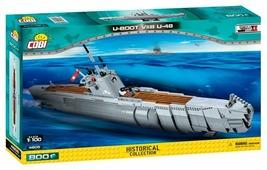 Конструктор Cobi Small Army World War II 4805 Подводная лодка U-boot U-48 VII B