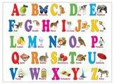 Плакат Лерман Шпаргалки для мамы. Английский алфавит 5-10 лет