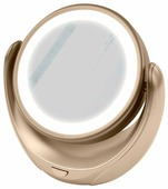 Зеркало косметическое настольное Marta MT-2653 с подсветкой