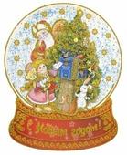 Наклейка интерьерная Феникс Present Письмо Деду Морозу 35 x 43 см
