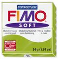 Полимерная глина FIMO Soft запекаемая зеленое яблоко (8020-50), 57 г