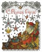 Наклейка интерьерная Феникс Present Мастерская Деда Мороза 30 х 38 см