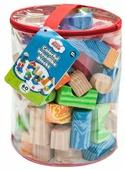 Кубики Little hero Colorful Woodlike Blocks (3094)