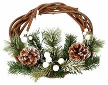 Венок Русские подарки Снежный лес 70633