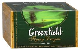 Чай зеленый Greenfield Flying Dragon в пакетиках