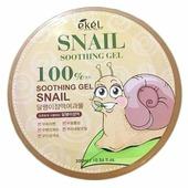 Гель для тела Ekel универсальный увлажняющий с муцином улитки Soothing Gel Snail 100%