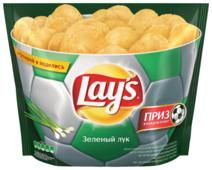 Lay's Чипсы Lay s картофельные Зелёный лук (пачка-чаша)