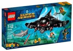 Конструктор LEGO DC Super Heroes 76095 Аквамен: Чёрная Манта наносит удар