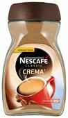 Кофе растворимый Nescafe Classic Crema с пенкой, стеклянная банка