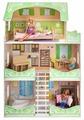 """PAREMO кукольный домик """"Луиза Виф"""" (с мебелью) PD318-10"""