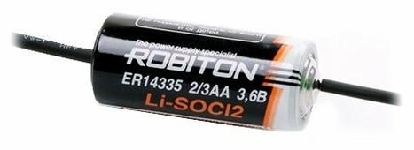 Батарейка ROBITON ER14335-AX с аксиальными выводами PH1