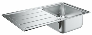 Врезная кухонная мойка Grohe K500 31571SD0